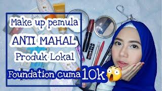 Video Make up Pemula Super murah ANTI MAHALL Produk Lokal | Rohmayanti download MP3, 3GP, MP4, WEBM, AVI, FLV Oktober 2019
