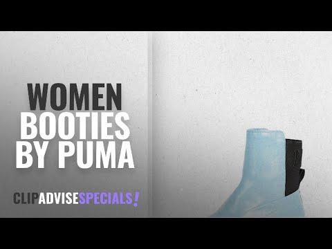 Top 10 Puma Women Booties [2018]: PUMA Women's Fenty x Chelsea Sneaker Boots, Sterling
