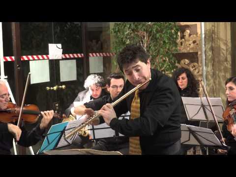 W.A. Mozart Concerto in sol Maggiore K313 per flauto e orchestra