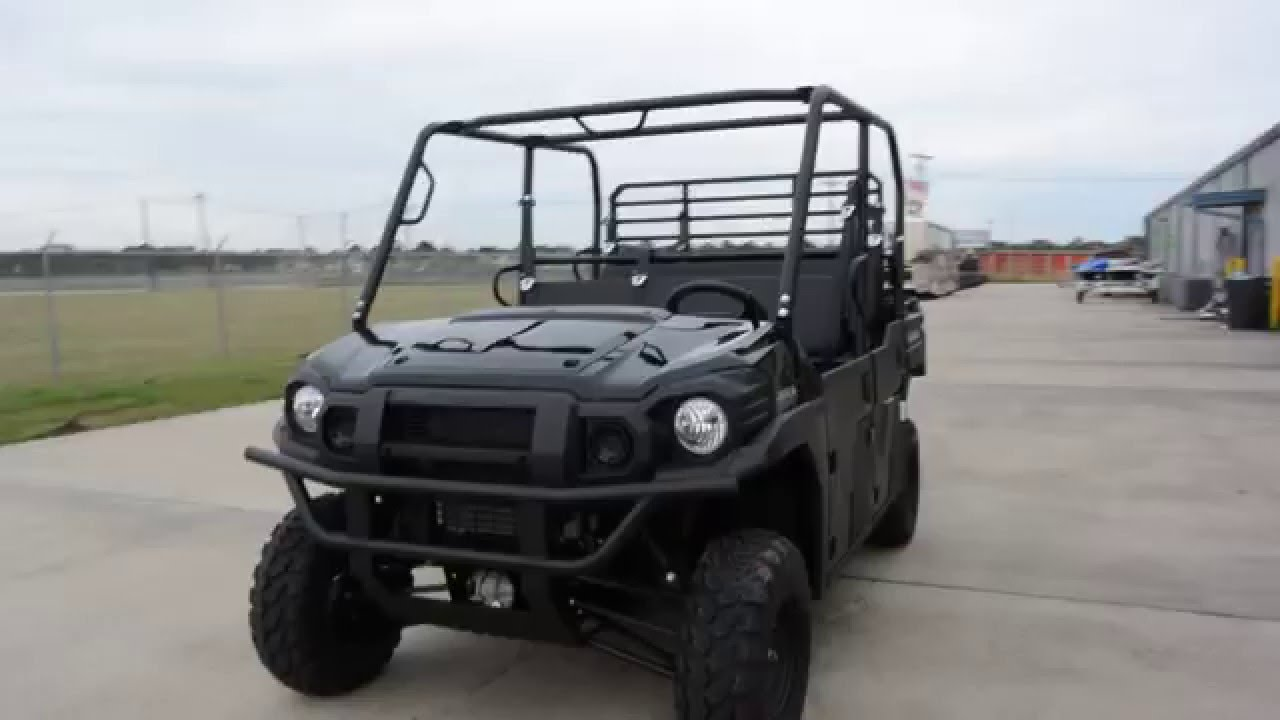 $14,199: 2016 kawasaki mule pro dxt diesel in black overview and