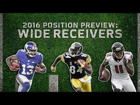 Top 5 Wide Receivers & Top 3 Rookies to Watch (2016 Position Preview) | Move the Sticks | NFL