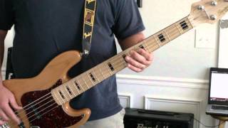 Days of the New - Touch Peel and Stand bass cover