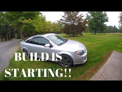 2006 COBALT SS/SC BUILD PART 1, & HOW TO INSTALL SHIFT BOOT