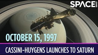 OTD in Space - Oct. 15: Cassini-Huygens Launches to Saturn
