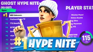 1st Place W-key oฑ Exponential in Solo Hype Nite (Controller) | UnknownxArmy