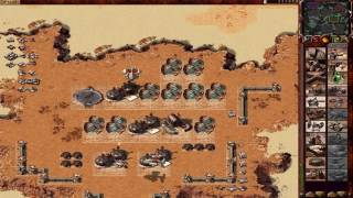 Dune 2000 - Harkonnen vs Ordos gameplay 1080p