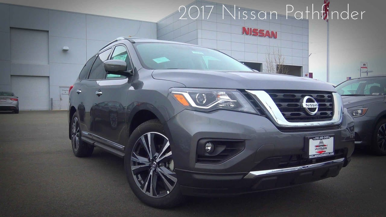 Nissan Pathfinder Platinum >> 2017 Nissan Pathfinder Platinum 3.5 L V6 Review - YouTube