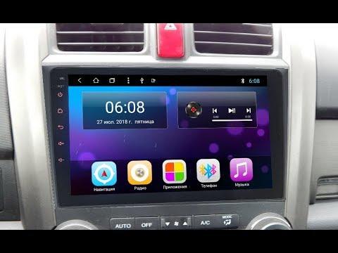Штатная магнитола Honda CR-V (2007-2012) 8 Core Android ZOY-8800-T8