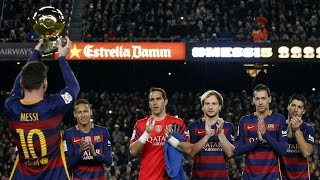 Hi5toric Moment  ► Lionel Messi Presenting His FIFTH Ballon d