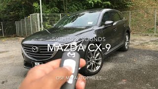 Mazda CX-9 Sights & Sounds