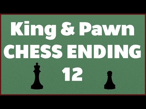 COMPLETE CHESS ENDGAME COURSES PART 12 OF 136 - King & Pawn - Rook Pawn