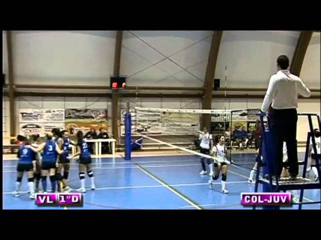 ASD Colonnetta vs Pro Juventute - 3° Set