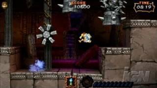 Ultimate Ghosts 'N Goblins Sony PSP Gameplay - Super