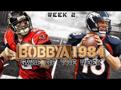 Broncos vs. Falcons Commentary (NFL 2012 Week 2) - Game of the Week w/ Bobbya1984