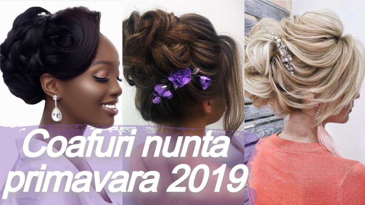 Modele Coafuri Nunta Primavara 2019