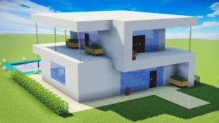 simples minecraft moderna casa ultra