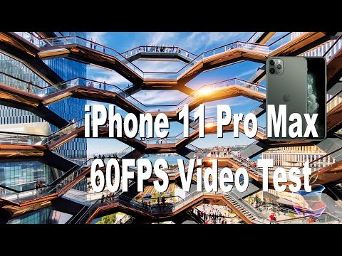 iPhone 11 Pro Max Video Test at  4K 60fps - Amazing Wide Angle Camera