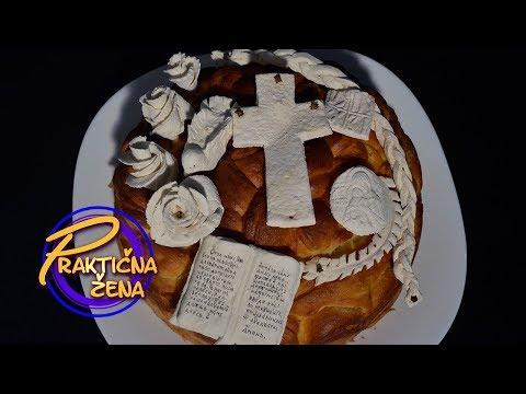 Praktična žena - Sever i jug - slavski kolač i sitni kolači