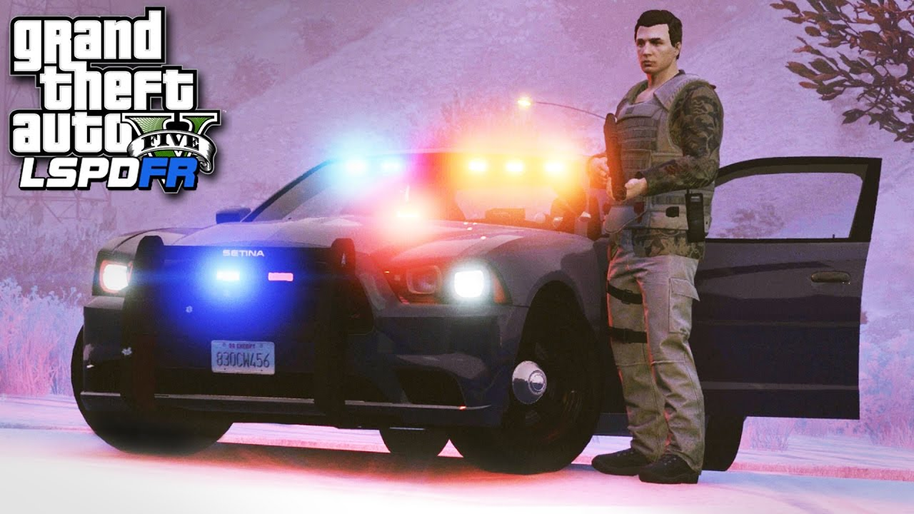 GTA 5 LSPDFR SP #226 - (Bad Cop) Don't Look at Me!