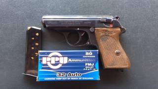 Zapętlaj Walther ppk 32acp | The two lucky gunners