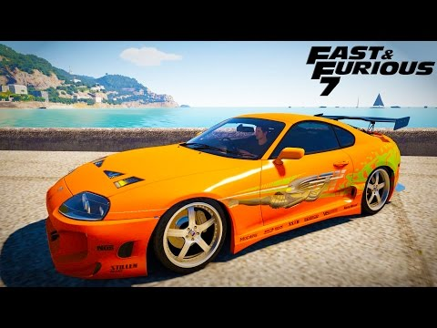 Fast & Furious 7 Paul Walker Race Car - Forza Horizon 2 1080P 60fps LiveStream