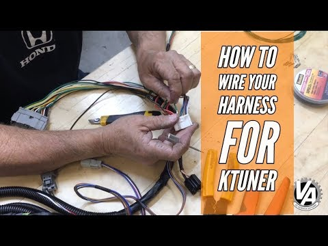 How to Wire Your K Swap Harness for KTuner