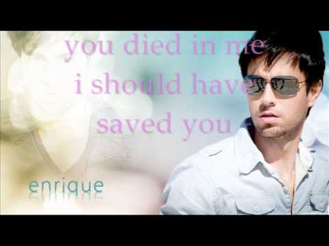 wish you were here with me lyrics by enrique iglesias