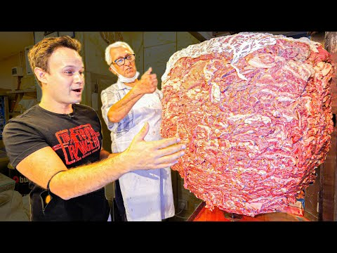 Making The BIGGEST Doner in the WORLD!!! MOST EXTREME Street Food Tour of Istanbul, Turkey!!!