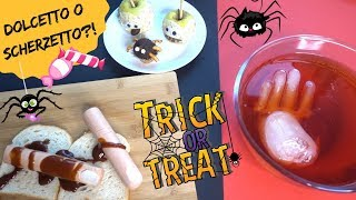 DOLCETTO O SCHERZETTO? *DIY Halloween food decorations*