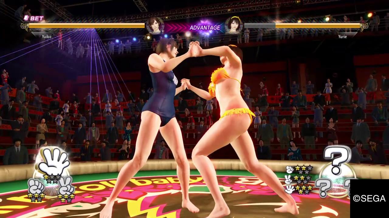YAKUZA 0 Gambling King Catfight Battle