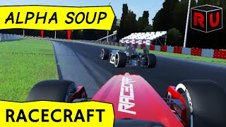 Racecraft gameplay: Random Formula One-style tracks! [PC game tech demo]