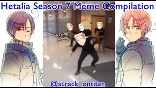 I did some Hetalia Memes because there was not enough of Season 7   acrack_ontitan compilation 1