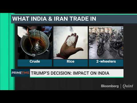Donald Trump Exits Iran Deal: Impact On India's Ports