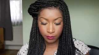 how i style my box braids