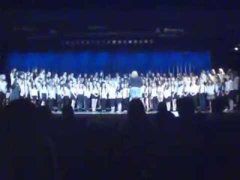 GW and Holdrum Middle School Chorus at PV