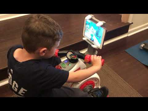 Loving The New Fisher Price Think And Learn Smart Cycle (aka His Peloton Kids Exercise Bike)