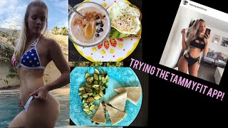 What I Eat in a Day | Trying the Tammy Hembrow Fitness App & Intermittent Fasting