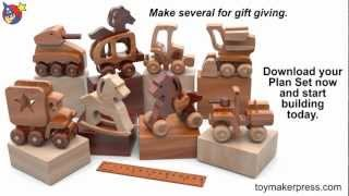 Wood Toy Plans - Toy Christmas Ornaments