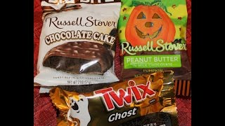 Russell Stover Chocolate Cake, Peanut Butter & Twix Ghost Review