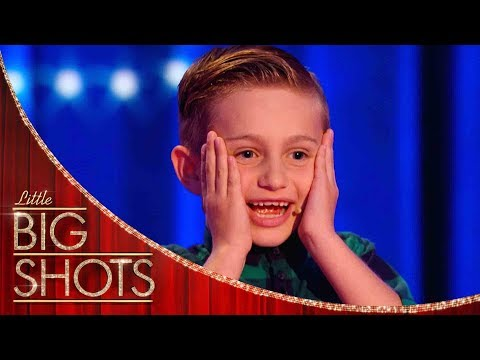 Nathan Is The Youngest Comedian You&39;ll Ever See  Little Big Shots