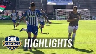 Hertha BSC Berlin vs. FC Augsburg | 2017-18 Bundesliga Highlights