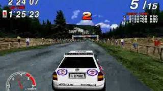 Why I would rather lose in Sega Rally.