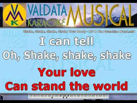 Shake, Shake, Shake, Shake Your Booty   KC & The Sunshine Band   Karaoke