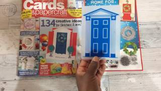 Front Door Holiday Tags with UK's Simply Cards and Papercraft Magazine 154