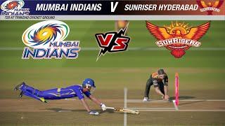 T20 MI vs SRH - Mumbai Indians vs Sunrisers Hyderabad Cricket 19 1080p HD Ultra Graphics Gameplay