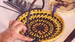Завершение плетения изделий