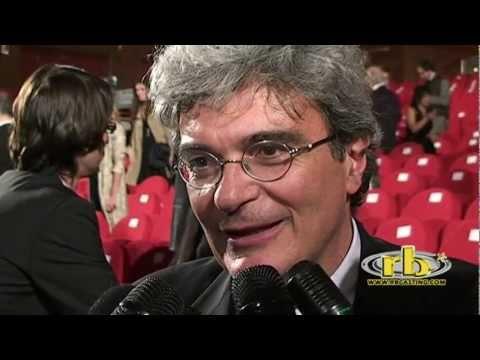 MARIO MARTONE - intervista (David di Donatello 2011) - WWW.RBCASTING.COM
