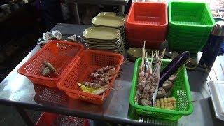 Уличная еда. Шаокао (shaokao) или ночная трапеза китайцев - Жизнь в Китае #126