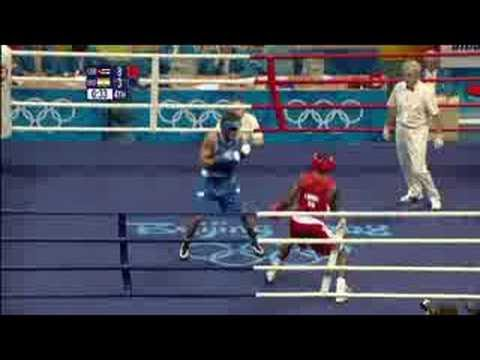 India vs Cuba - Boxing - Middleweight 75KG - Beijing 2008 Summer Olympic Games