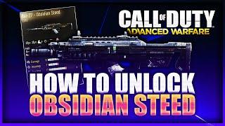 ''Entsperren der OBSIDIAN STEED'' Schaffen ''Obsidian Steed'' (CoD AW Bal-27 Obsidian Steed)